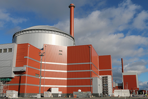 A picture of Olkiluoto 3 Nuclear Power Plant