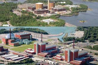 Olkiluoto and Loviisa nuclear power plants.